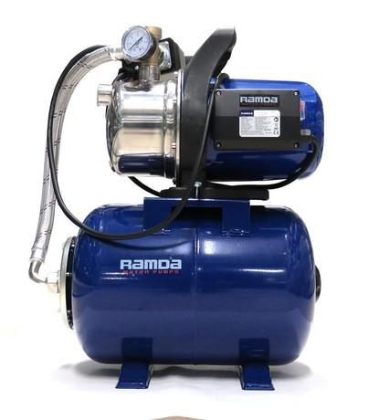 RAMDA WATER BOOST. PUMP JGP13008DX, 1300W, 24L, INOX P. HOUS